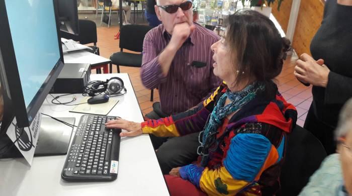 Découverte des tablettes et autres outils numériques par les personnes aveugles et/ou déficients visuels